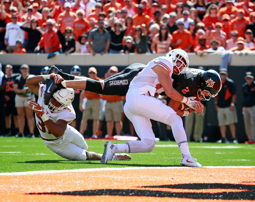 Texas prediction: Can the Longhorns slow Mason Rudolph and Oklahoma State's dynamic offense?