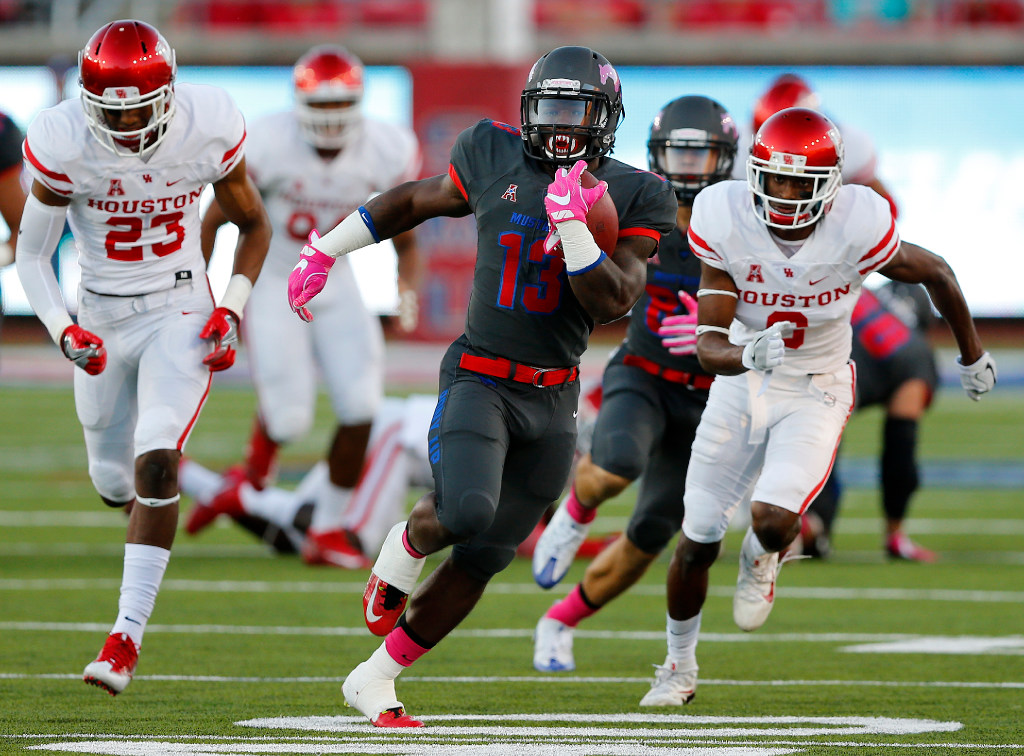 Which SMU RB has the best chance to make it to the NFL?