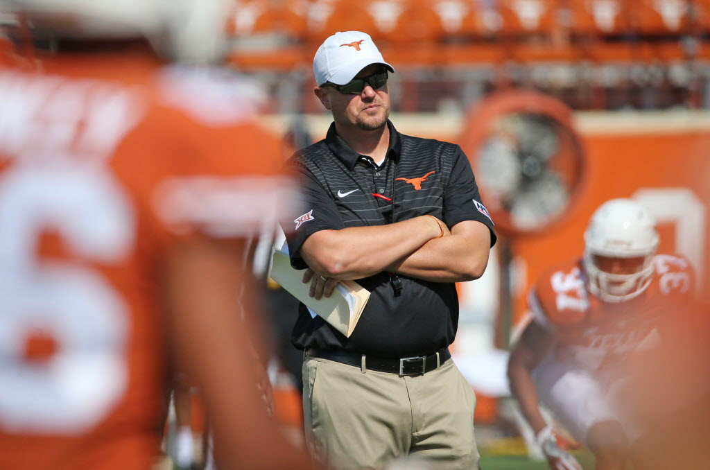 Has ship sailed on Shane Buechele at Texas? How good would a 6-6 start be for Tom Herman in Year 1?