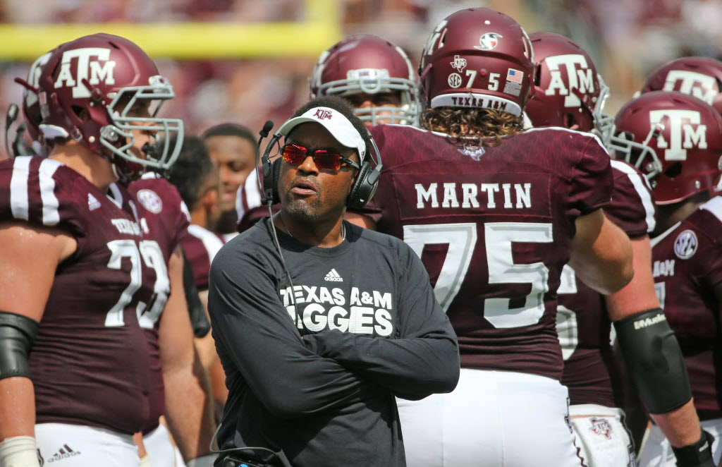 Could Kevin Sumlin be out of College Station... despite notgetting fired?