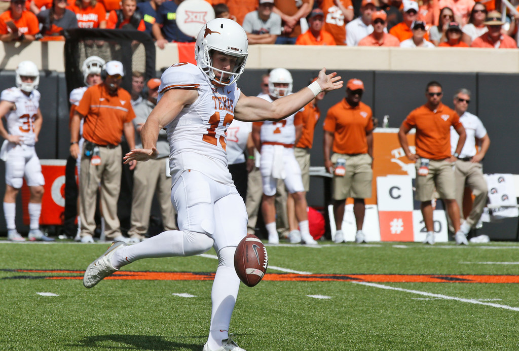 Mike Gundy raves about Texas punter Michael Dickson: 'He should have won the Ray Guy Award'