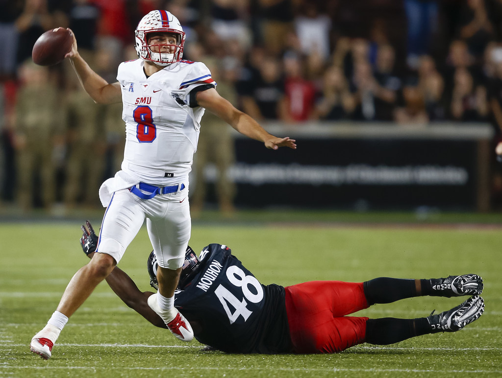 SMU quotable: QB Ben Hicks on how his game has evolved this season