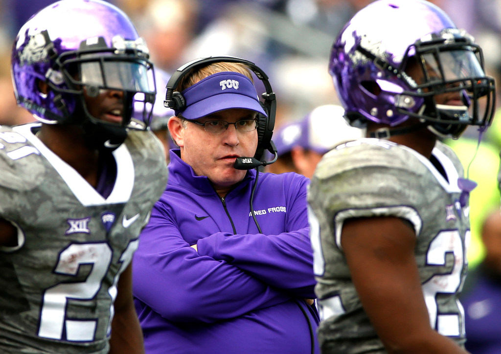 Primetime Patterson he is not: TCU coach says 'I'd rather play at 11 or 2:30'