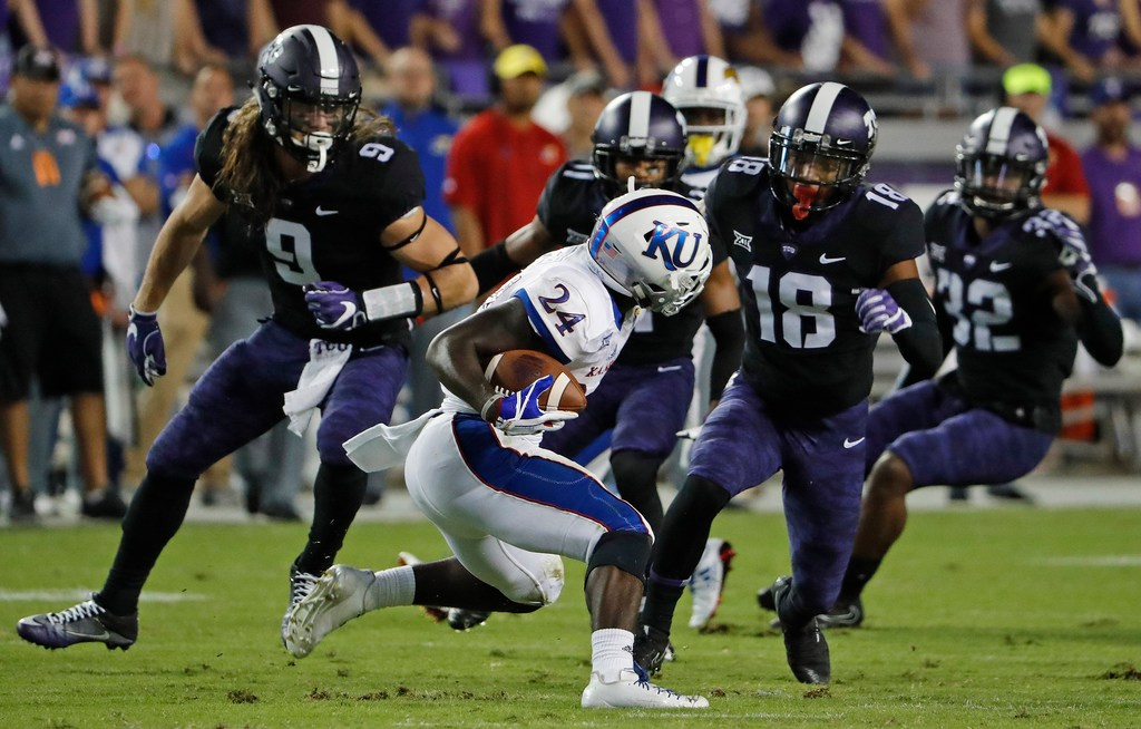 If you take away Kansas' last drive, TCU allowed the Jayhawks only a handful of yards