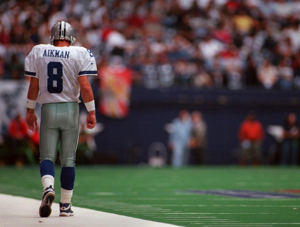 dallas cowboys troy aikman recalls jimmy johnson leaving him behind