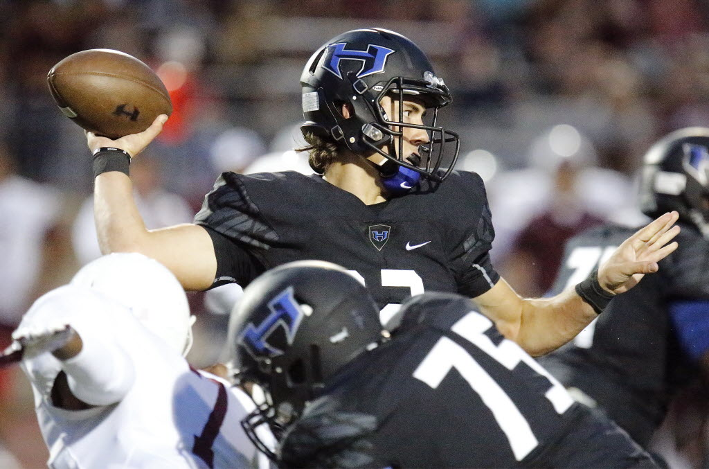 Hebron QB Clayton Tune no longer committed to Kansas