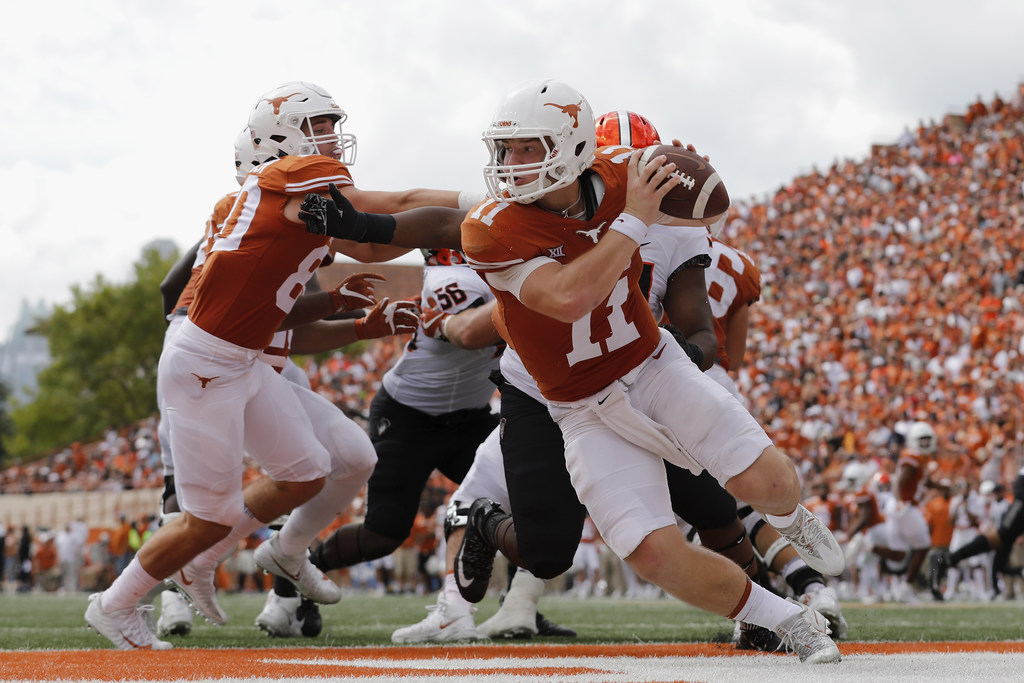 Ehlinger still a better option than Buechele for Texas; A&M capable of beating Auburn, LSU