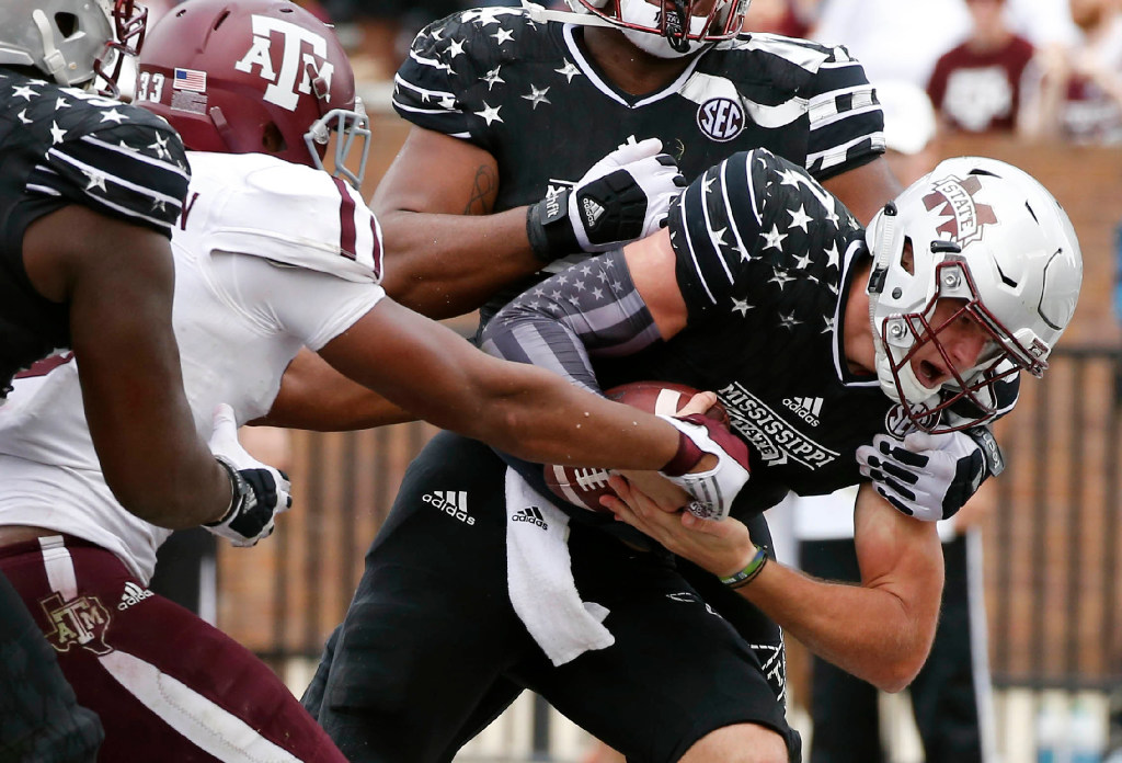 After last year, Kevin Sumlin isn't overlooking Mississippi State's Nick Fitzgerald