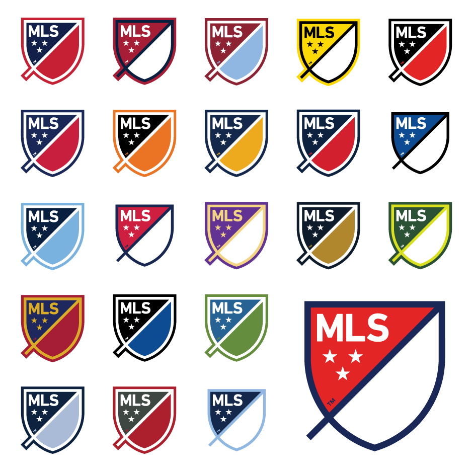 20 years mls franchise logos 20 years mls franchise logos