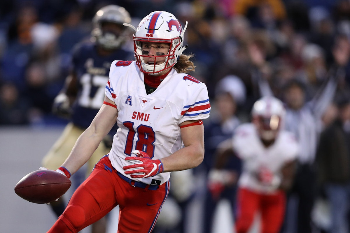 College Sports Will Smu Wr Trey Quinn Declare For The Nfl