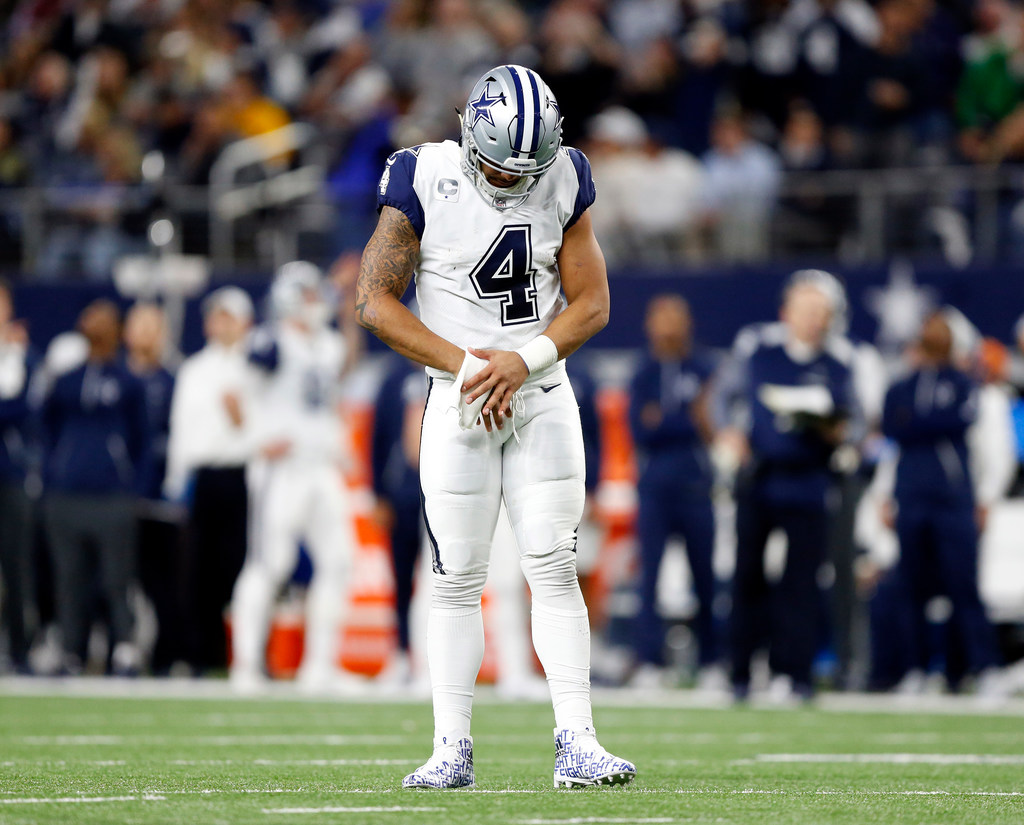 85b7920b020 Dallas Cowboys: Is Cowboys QB Dak Prescott not disclosing an injury? |  SportsDay