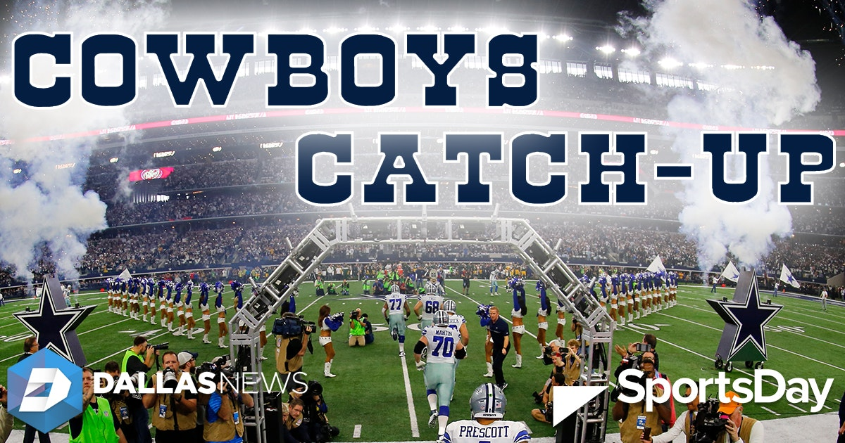 8ede83b564b Dallas Cowboys: Cowboys Catch-Up (Dec. 5): A huge concern that Dak may be  showing; watch players visit local children's hospitals | SportsDay