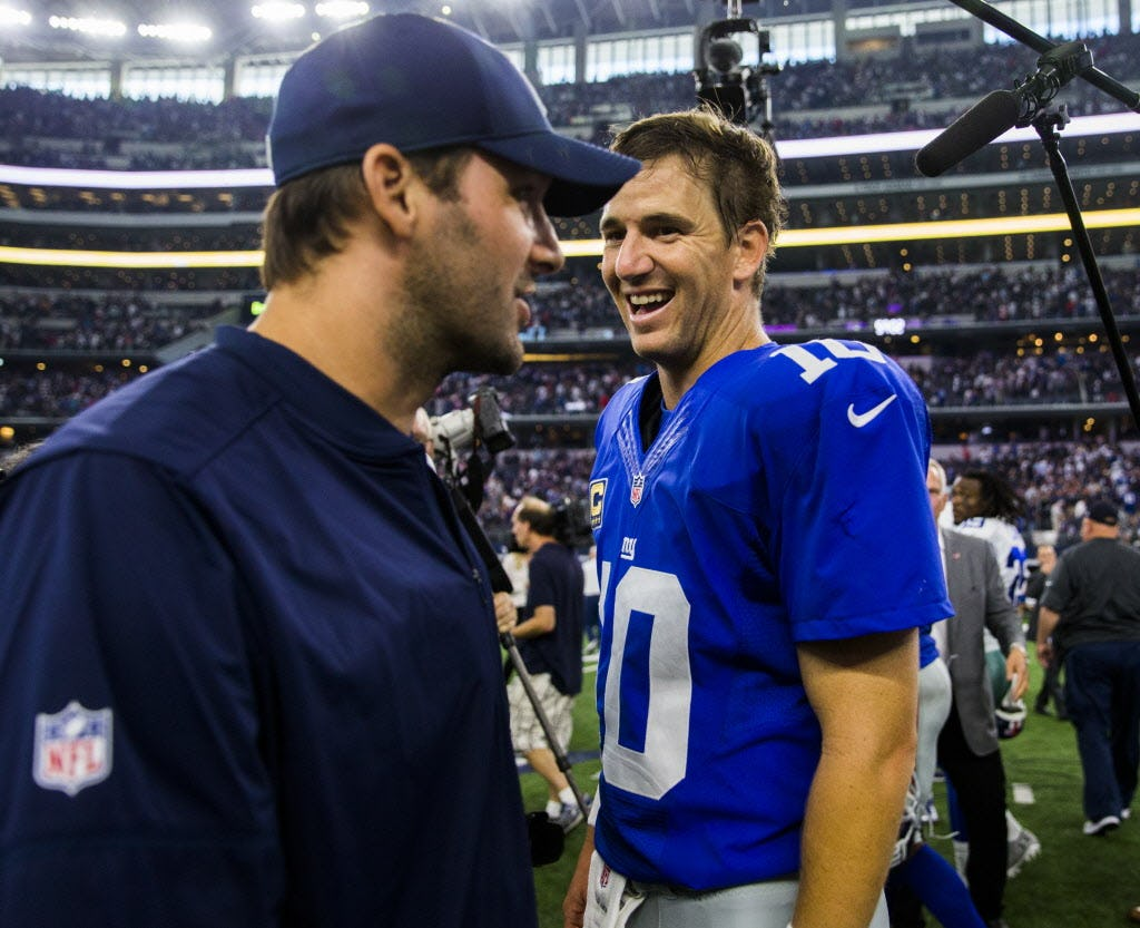 New York writer on why benching Eli Manning was such a big deal, ranking NFC East QBs