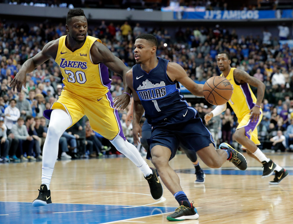 Dallas Mavericks  Dennis Smith Jr. isn t the best point guard in the league  (yet) 61243a441