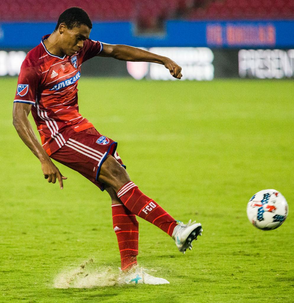 6dbbf2ac0 Soccer: MLS are trialing new socks in their adidas uniforms | SportsDay