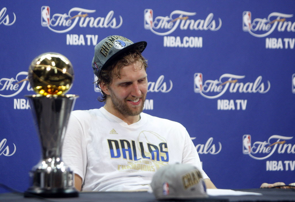 Dallas Mavericks  Ex-NBA All-Stars reflect on Dirk  We don t appreciate  2011 NBA Finals performance enough  a323289cb