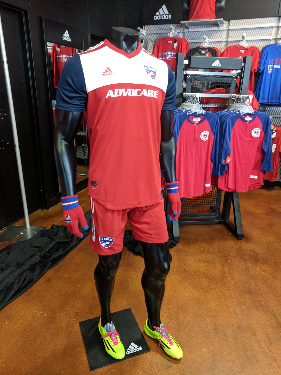 430d17c44 Soccer: Pictures from the FC Dallas 2018 home kit reveal   SportsDay