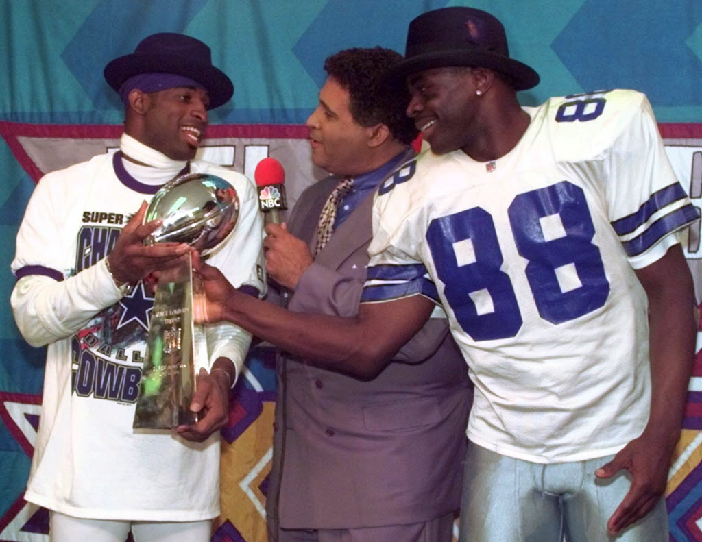 c6d7124c509 Dallas Cowboys  Flashback  A cornerback leads the way ... relive the Cowboys   Super Bowl XXX win over Pittsburgh