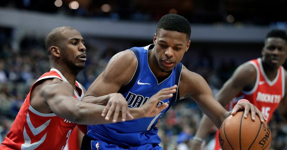 624bb1d5e4a Dallas Mavericks  Final  Mavs fall short vs. Rockets despite 5 scoring in  double figures