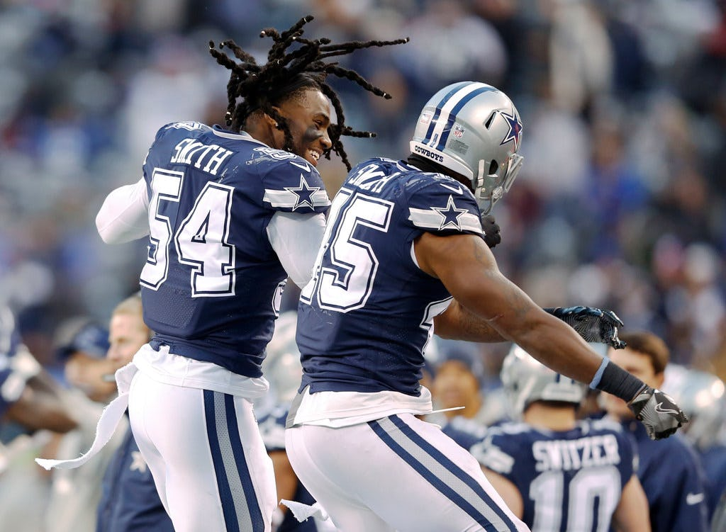 10 things to know about Jaylon Smith, from his Burger King job to recovering from a career-threatening injury