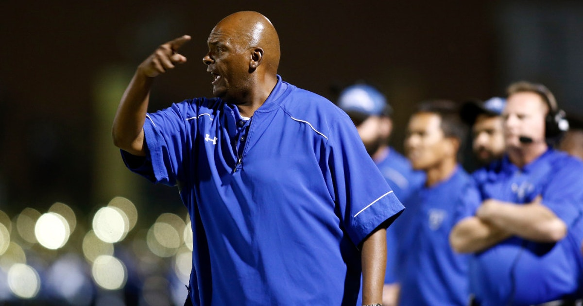 north mesquite s mike robinson is named desoto s new football coach