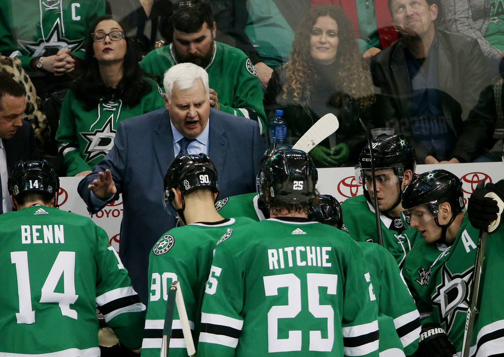 Why new Stars head coach Jim Montgomery will reap rewards from Ken Hitchcock's groundwork