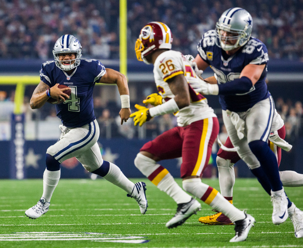 56d09caa1 Dallas Cowboys: With Jason Witten staring at the exit sign, Cowboys are  definitely Dak Prescott's team now | SportsDay