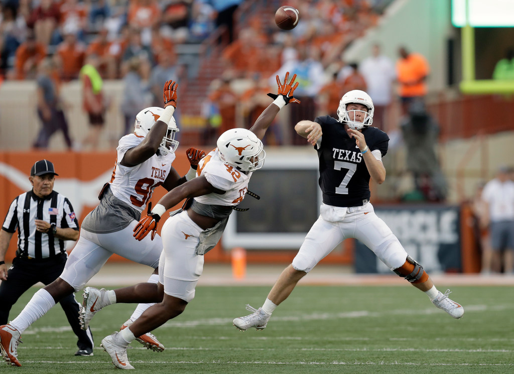 Texas roster rankings, Nos. 20-16: Will Shane Buechele make a leap in his junior season with Longhorns?