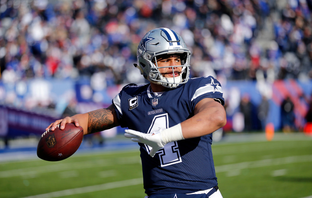 Which current Cowboys receiver does Dak Prescott have the most chemistry with?