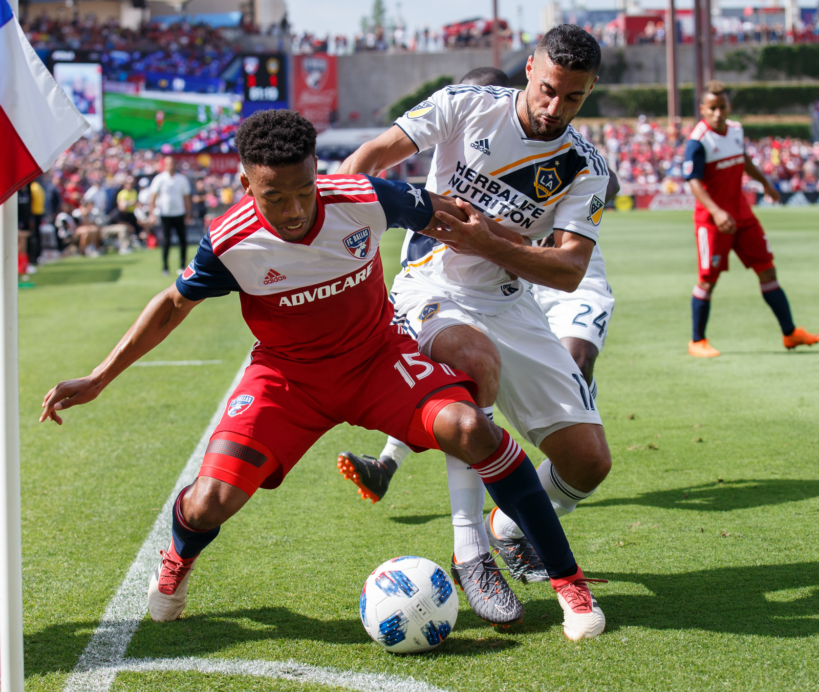 Match Photos: LA Galaxy at FC Dallas