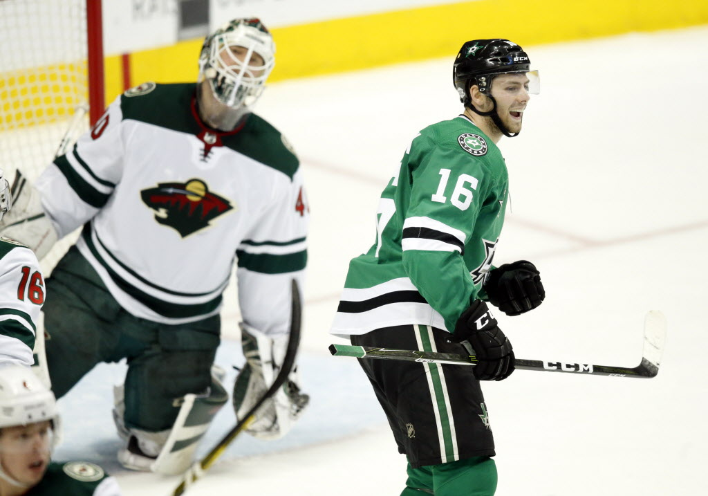 If Stars let Antione Roussel walk, could Jason Dickinson take veteran's spot in Dallas' lineup?