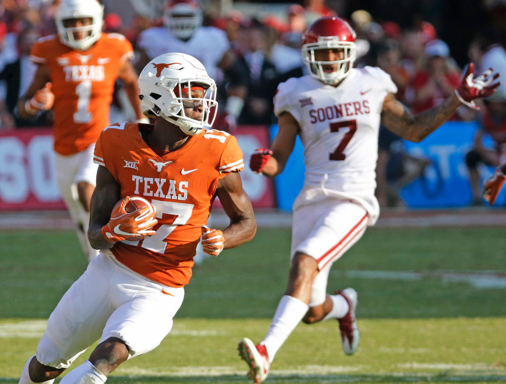 Former Longhorns' wideoutReggie Hemphill-Mapps lands withTrinity Valley Community College following transfer