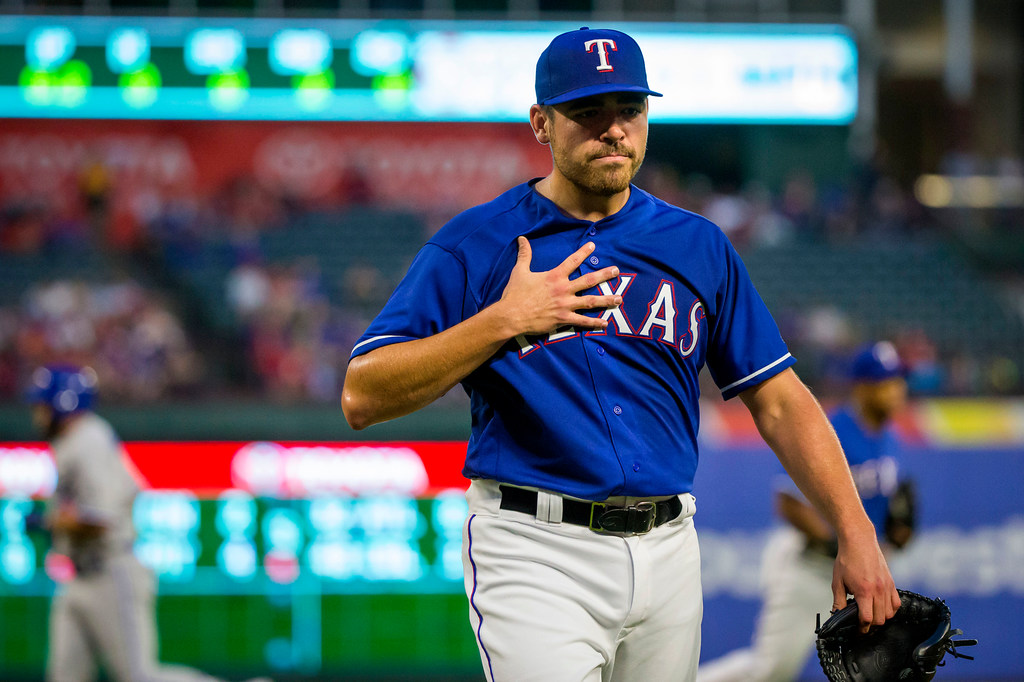 Why Rangers' struggling starter Matt Moore couldn't last 4 innings with a 6-run lead