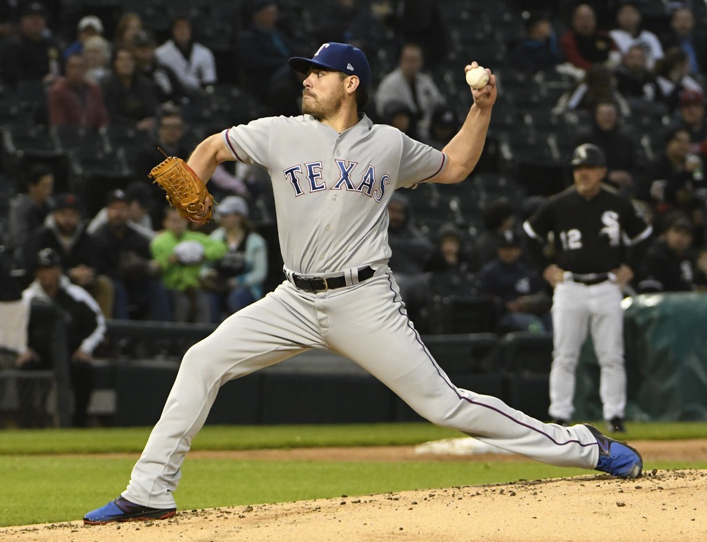 Rangers place Matt Moore on disabled list with knee soreness