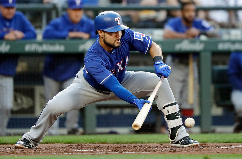 How sacrifice bunts became the Rangers' short-term offensive weapon