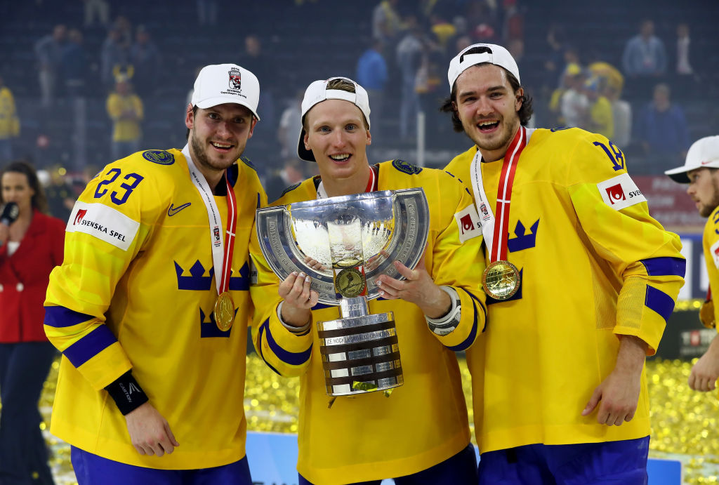 John Klingberg, Mattias Janmark take home gold with Sweden in IIHF World Championships