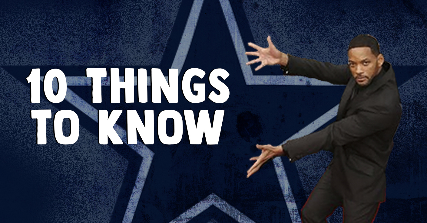 10 things you need to know about the Dallas Cowboys entering OTAs