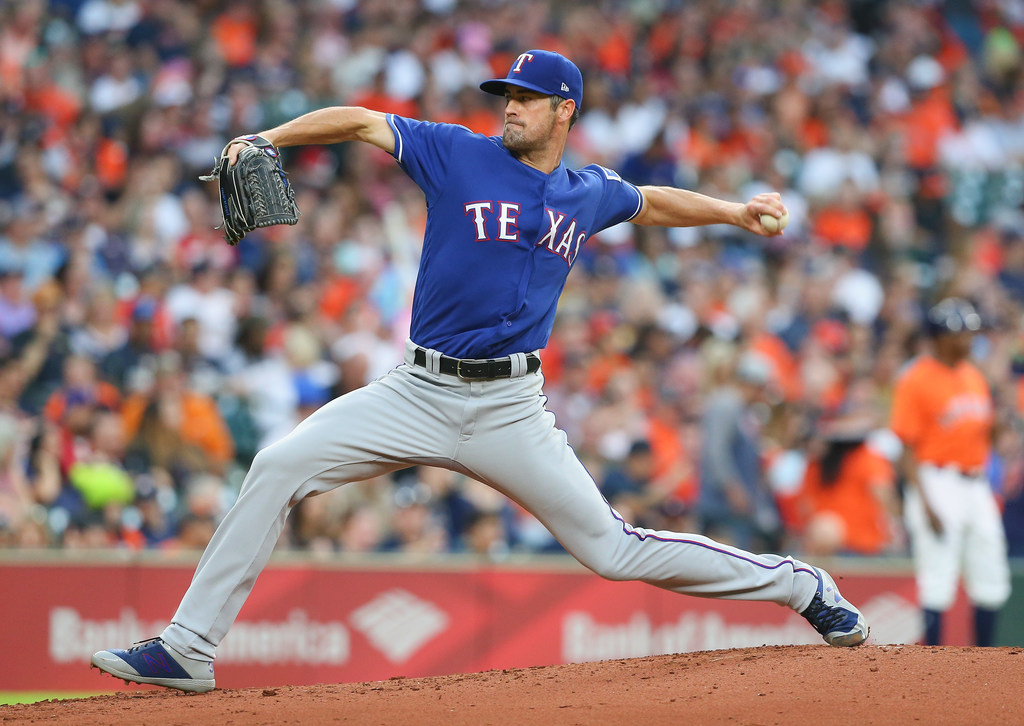 Tuesday's pitching matchup: Hamels returns for Rangers