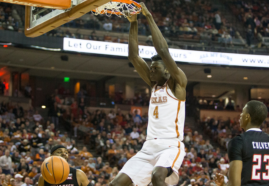 Best of Mohamed Bamba's highlights: Can you envision the former Texas C catching lobs from Dennis Smith Jr.?