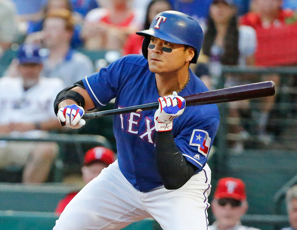 If bunting is good enough for Mickey Mantle, it should be good enough for the Rangers