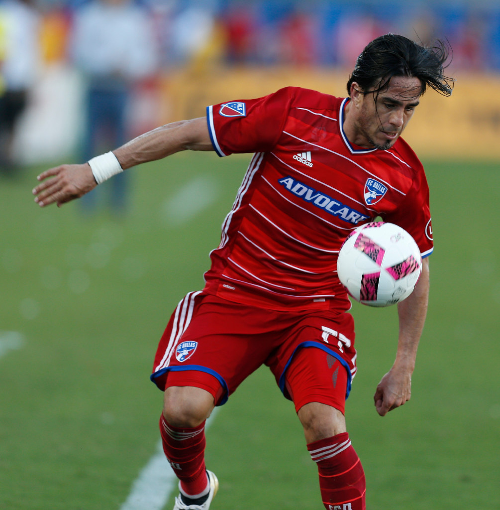 Mauro Rosales trains with FC Dallas before returning for final professional season in Argentina