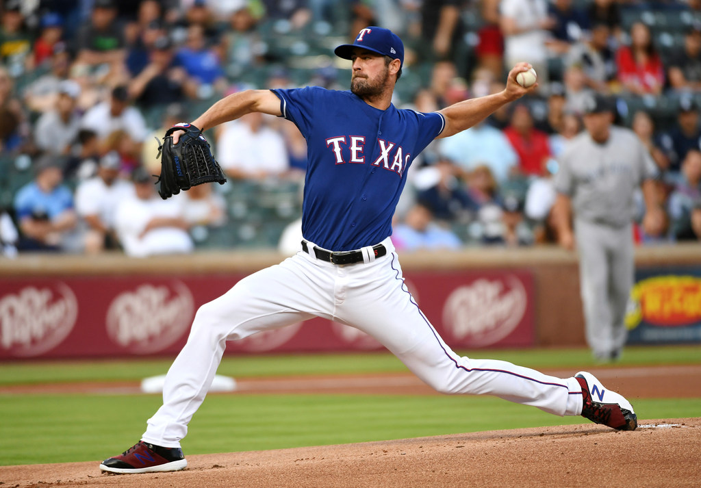 Was Rangers Cole Hamels' latest start against the Yankees an audition?