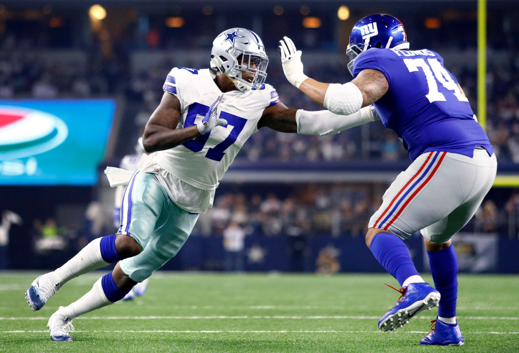 Here's how Taco Charlton can make his mark on the Cowboys' defense this season