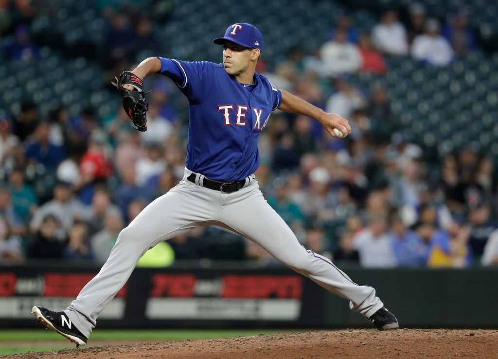 Here's how Rangers relieverBrandon Mann made demotion toTriple-A Round Rock 'very easy'...