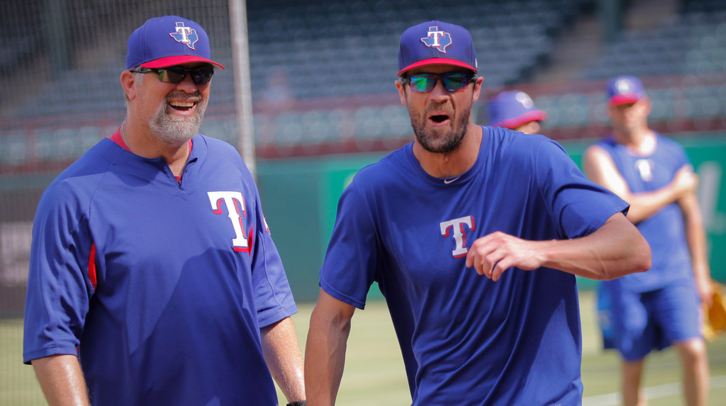 Sunday's pitching matchup: Rangers go for series win behind Hamels