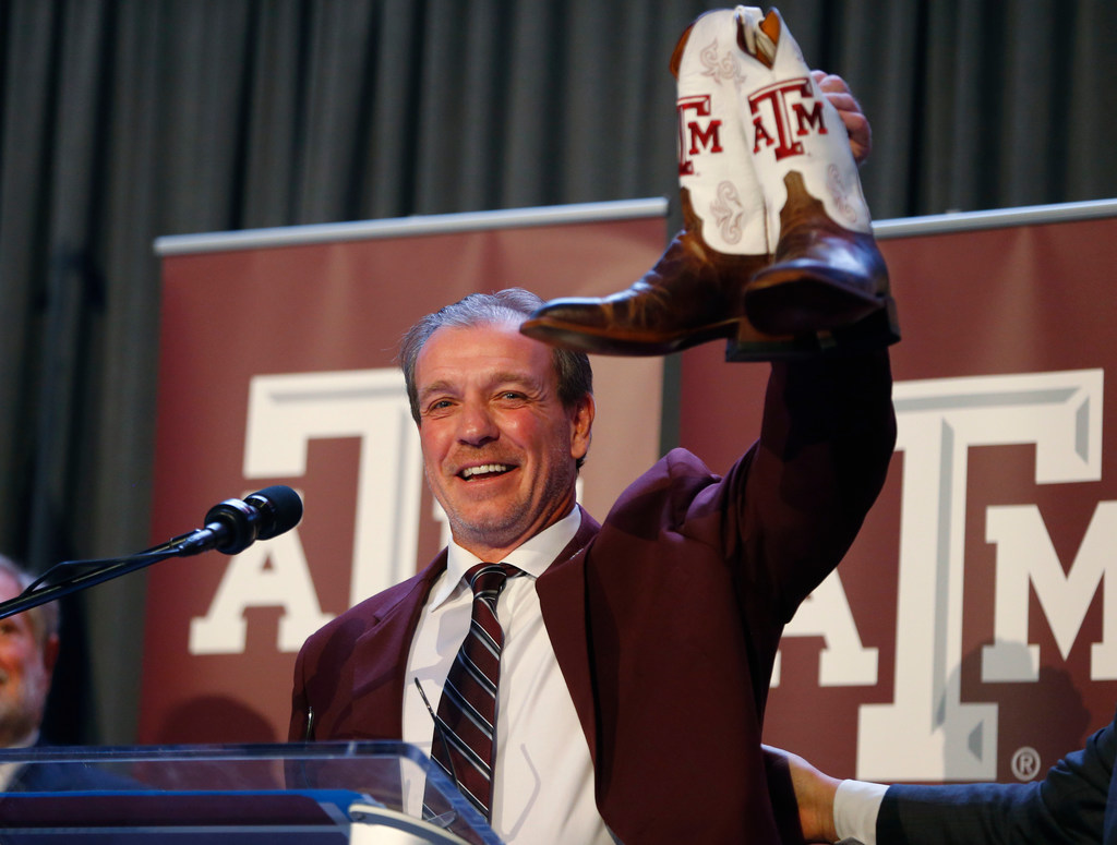 Texas A&M AD Scott Woodward believes football rivalry renewal with Texas will come to fruition, but in due time