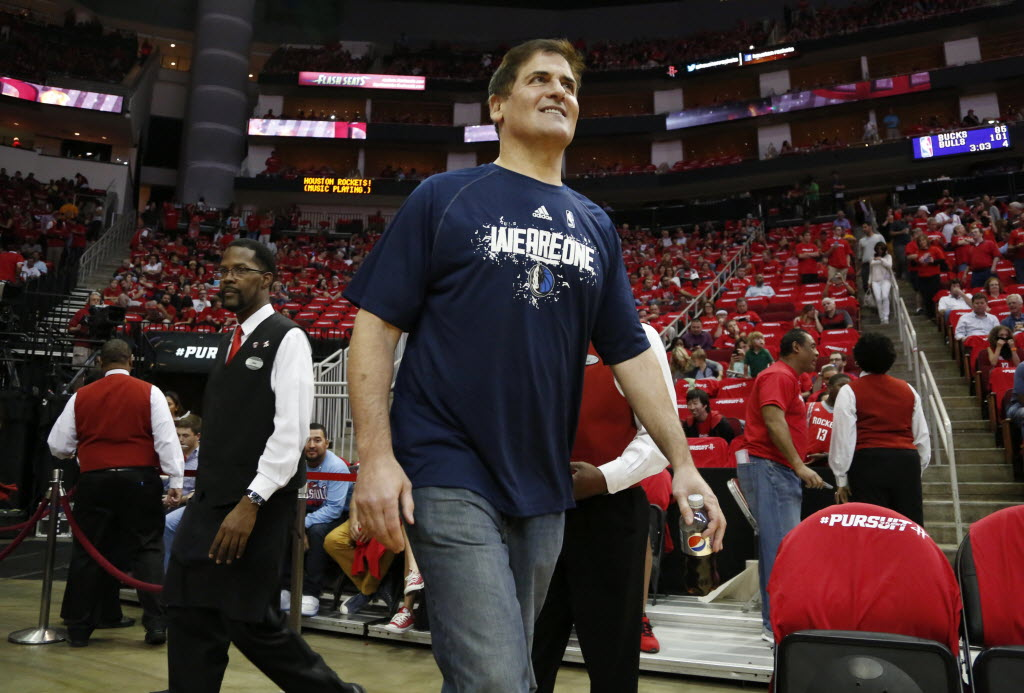 Mark Cuban, Rockets GM had some jokes for the Bryan Colangelo burner Twitter account story