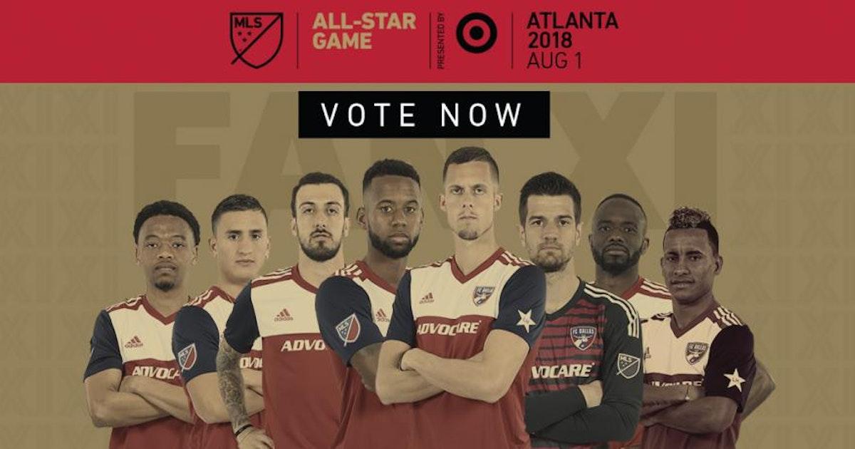 Soccer Eight Fc Dallas Players On Mls All Star Ballot Sportsday