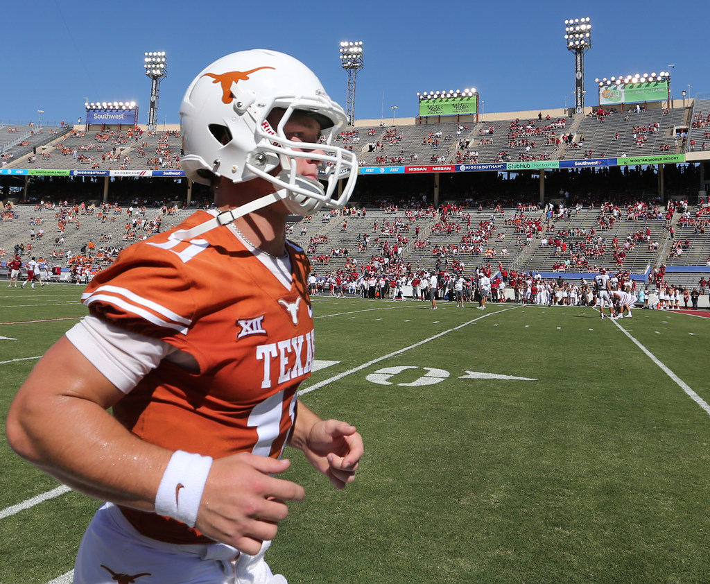 10 things you may not know about Texas QB Sam Ehlinger, like his propensity for talking trash