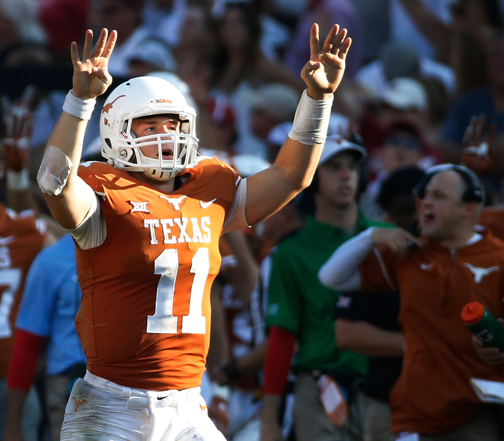 Which Longhorns' QB takes more snaps next season: Sam Ehlinger or Shane Buechele?